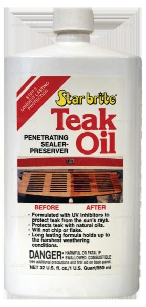 TEAK OIL 32OZ by:  StarBrite Part No: 081632C - Canada - Canadian Dollars
