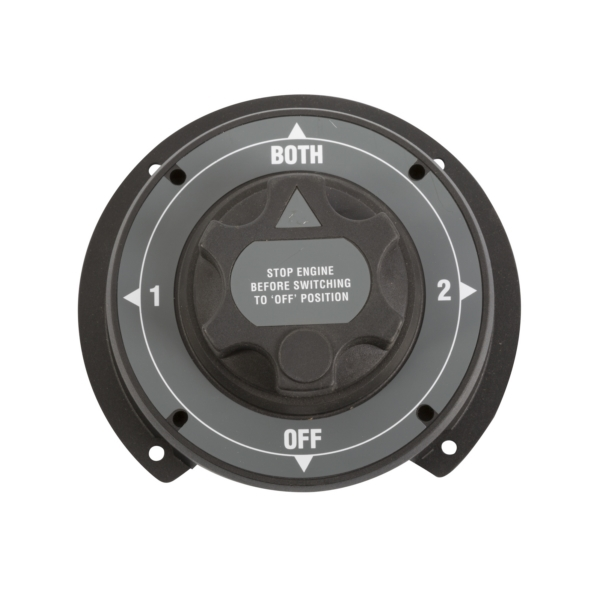4 POSITION LARGE BATTERY SWITCH HD by:  Boatersports Part No: 51043 - Canada - Canadian Dollars
