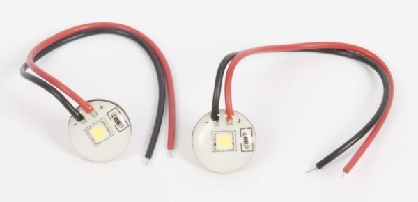 STICK ON LIGHT  WH LED - BK ADHESIVE 2PK by:  Boatersports Part No: 51990 - Canada - Canadian Dollars