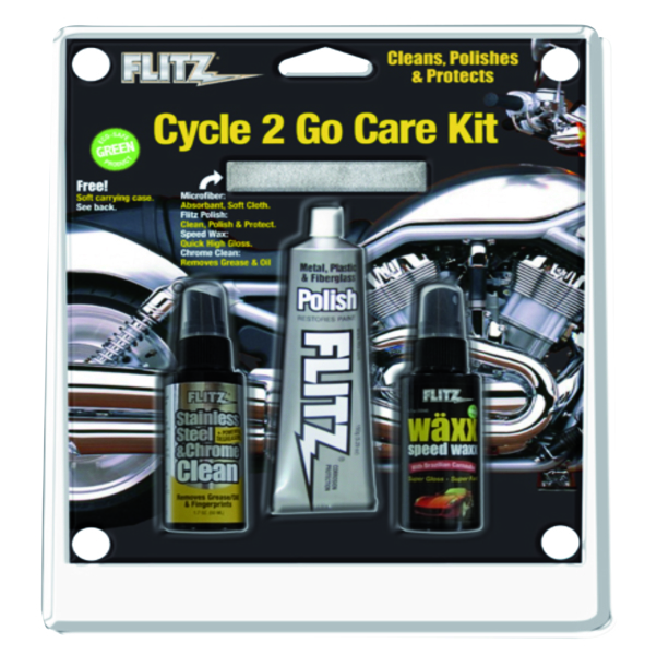 Cycle 2Go Care Kit by:  Flitz Part No: CY 41503 - Canada - Canadian Dollars