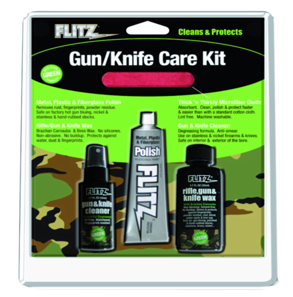 Knife & Gun Care Kit by:  Flitz Part No: KG 41501 - Canada - Canadian Dollars