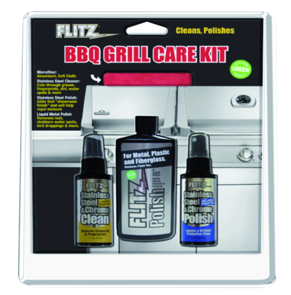 BBQ Grill Care Kit by:  Flitz Part No: BBQ 41504 - Canada - Canadian Dollars