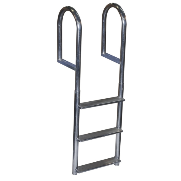 DOCK LADDER 3 STEP FIXED WIDE WELD ALUM by:  DockEdge Part No: 2043-F - Canada - Canadian Dollars