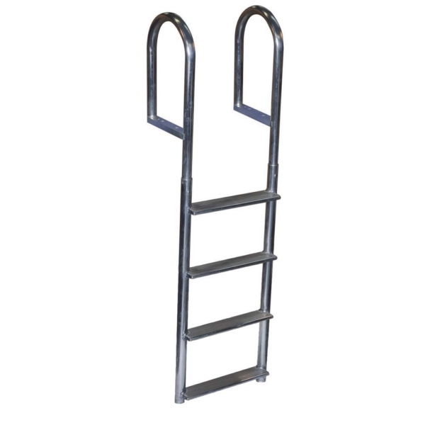 DOCK LADDER 4 STEP FIXED WIDE WELD ALUM by:  DockEdge Part No: 2044-F - Canada - Canadian Dollars