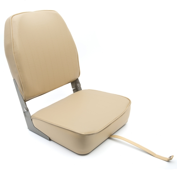 Economy Folding High Back Chair, Tan by:  Springfield Part No: 1040648 - Canada - Canadian Dollars