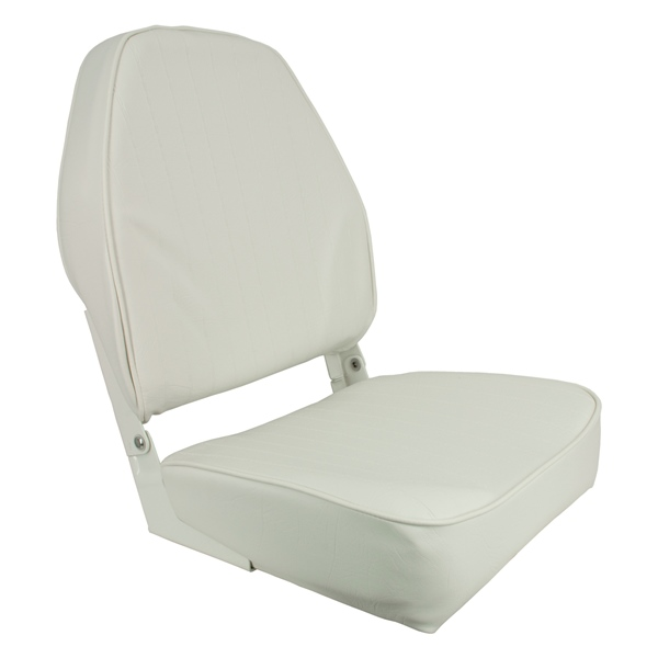 Economy Folding High Back Chair, White by:  Springfield Part No: 1040649 - Canada - Canadian Dollars