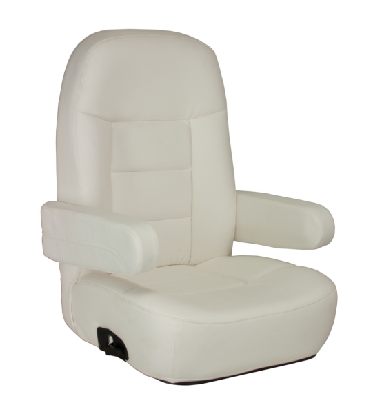 Mariner Pilot Helm Chair White by:  Springfield Part No: 1042080-W - Canada - Canadian Dollars