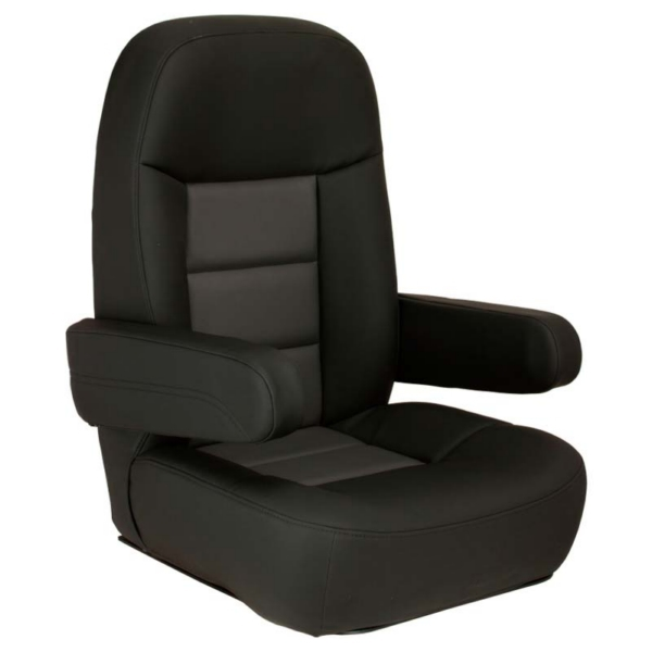 Mariner Pilot Helm Chair Black/Charcoal by:  Springfield Part No: 1042081-BC - Canada - Canadian Dollars