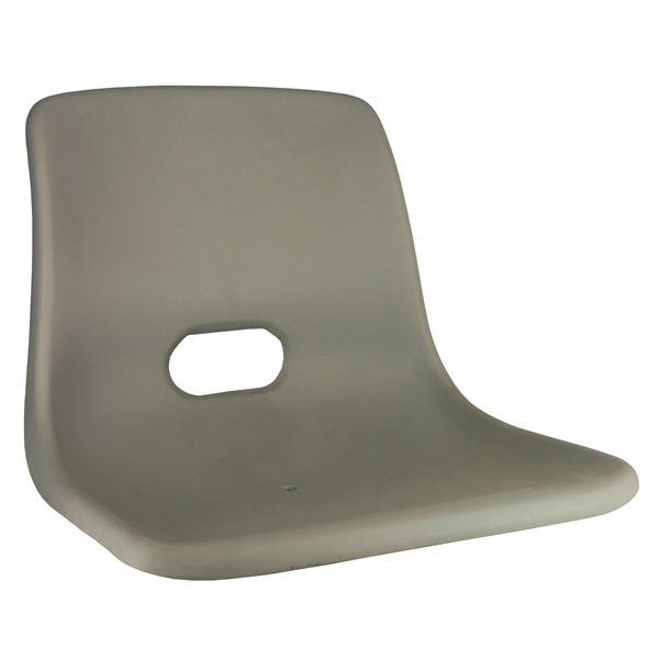 First Mate Molded Chair Shell Grey by:  Springfield Part No: 1061014-S - Canada - Canadian Dollars