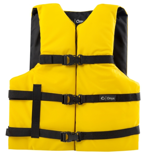 UNIVERSAL VEST PFD - ADULT YL by:  Onyx Part No: 10300130000412 - Canada - Canadian Dollars