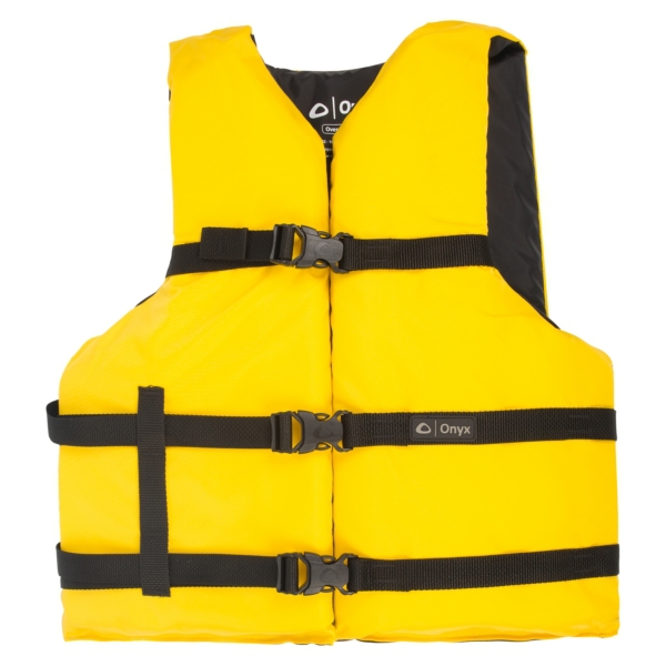 UNIVERSAL VEST PFD - SXL  YL by:  Onyx Part No: 10300130000512 - Canada - Canadian Dollars