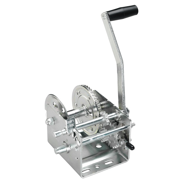 WINCH 2000LBS 2SPEED HOLE/CNTR NO STRAP by:  FultonWesbar Part No: T2005SC301 - Canada - Canadian Dollars