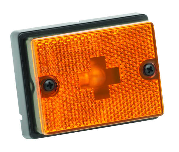 SIDE MARKER LIGHT AMBER by:  FultonWesbar Part No: 203111# - Canada - Canadian Dollars