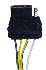 TRUNK CONNECTOR 4-FLAT 48
