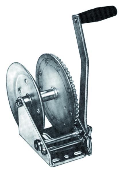 MANUAL TRAILER WINCH 1800LB by:  FultonWesbar Part No: T1801 0101 - Canada - Canadian Dollars