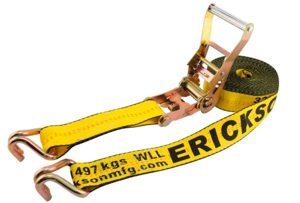 RATCHET W/DOUBLE J-HOOK 2  X27  10,000 L by:  Erickson Part No: 78627 - Canada - Canadian Dollars