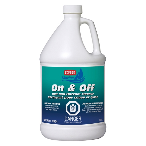 CRC ON AND OFF HULL & BOT.CLEANER 3,79L by:  CRC Part No: 76204 - Canada - Canadian Dollars