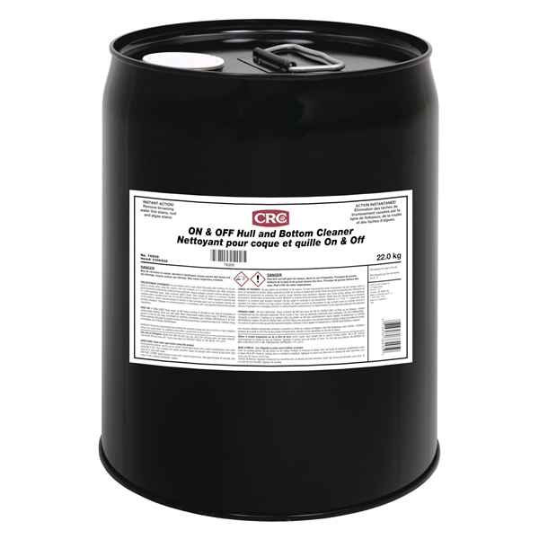 CRC ON AND OFF HULL CLEANER 19L PAIL by:  CRC Part No: 76205 - Canada - Canadian Dollars