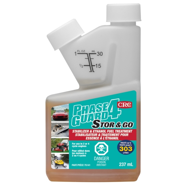 PhaseGuard4 Ethanol Fuel Treatment 8oz by:  CRC Part No: 75141 - Canada - Canadian Dollars