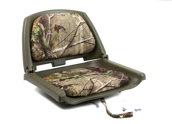 PLASTIC FOLD DOWN SEAT W/CAMO CUSHION by:  Wise Part No: 8WD139CLS-762 - Canada - Canadian Dollars