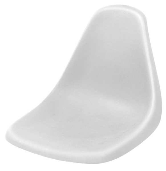 MOLDED POLY FISHING CHAIR W/O SWIVEL-WH by:  Wise Part No: 8WD140LS-710 - Canada - Canadian Dollars