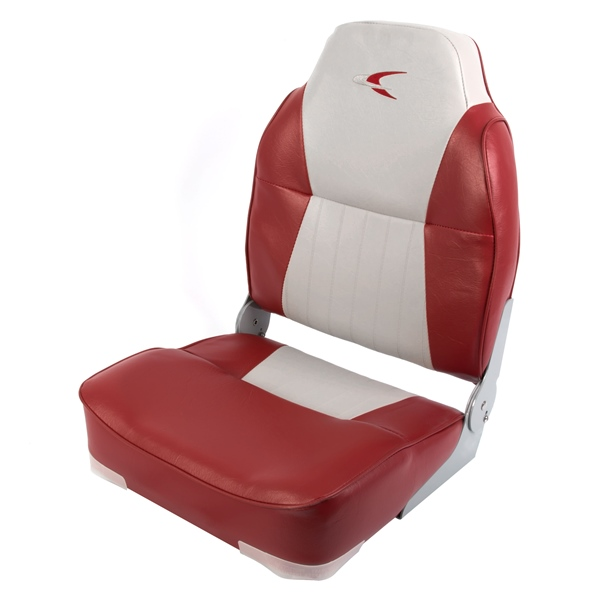 DELUXE HIGH-BACK SEAT- GRAY/RED by:  Wise Part No: 8WD640PLS-661 - Canada - Canadian Dollars