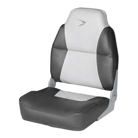 DELUXE HIGH-BACK SEAT-GRAY/CHARCOAL by:  Wise Part No: 8WD640PLS-664 - Canada - Canadian Dollars