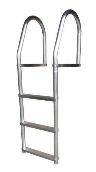 DOCK LADDER 3 STEP ECO ALUMINIUM by:  DockEdge Part No: 2073-F - Canada - Canadian Dollars