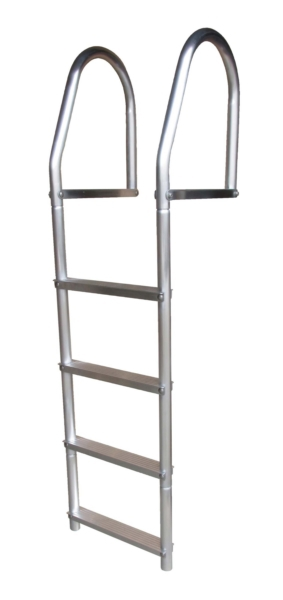 DOCK LADDER 4 STEP ECO ALUMINIUM by:  DockEdge Part No: 2074-F - Canada - Canadian Dollars