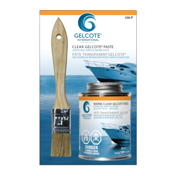 CLEAR GELCOTE PASTE C/W AIRDRY/HARDENER by:  CaptainPhab Part No: 100P - Canada - Canadian Dollars