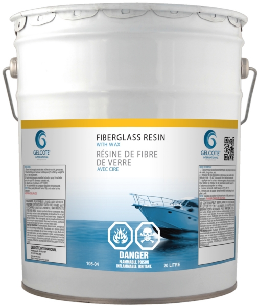 ** DG POLYESTER RESIN, WAXED, 20 LITRE by:  CaptainPhab Part No: 105-04 - Canada - Canadian Dollars