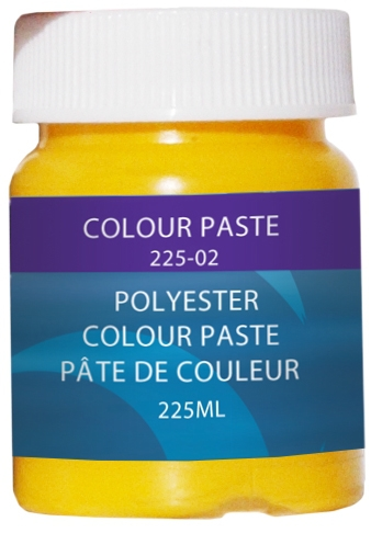 COLOUR PASTE, YELLOW, 225 ML. by:  CaptainPhab Part No: 225-2 - Canada - Canadian Dollars