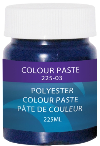 COLOUR PASTE, BLUE, 225 ML. by:  CaptainPhab Part No: 225-3 - Canada - Canadian Dollars