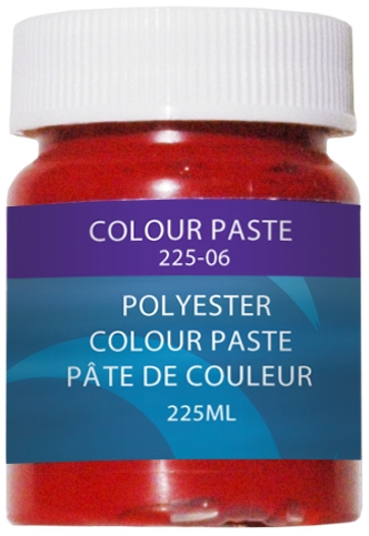 COLOUR PASTE, RED, 225 ML. by:  CaptainPhab Part No: 225-6 - Canada - Canadian Dollars