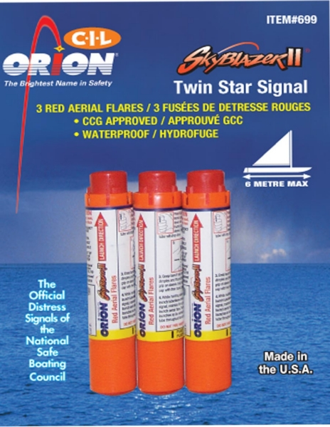 AERIAL FLARE RD - 3/PACK by:  Orion Part No: CIL-3 - Canada - Canadian Dollars