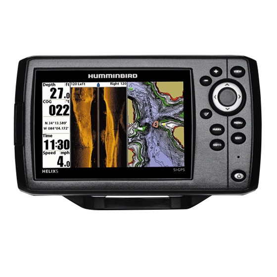 FISHFINDER HELIX 5 GPS PT by:  Humminbird Part No: 409720-1 - Canada - Canadian Dollars