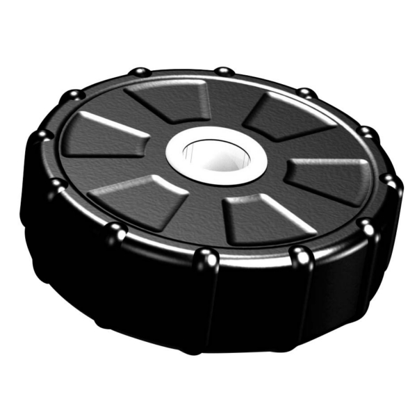 DOCK POST GUIDE WHEEL 14   PVC by:  TaylorMade Part No: 1214 - Canada - Canadian Dollars