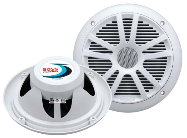 MARINE RADIO W/SPEAKERS 6.5   WH by:  BossAudio Part No: MCKGB350W.6 - Canada - Canadian Dollars