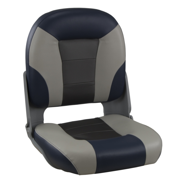 SKIPPER PREMIUM SEAT HIGH BACK BL/GY by:  Springfield Part No: 1061069 - Canada - Canadian Dollars