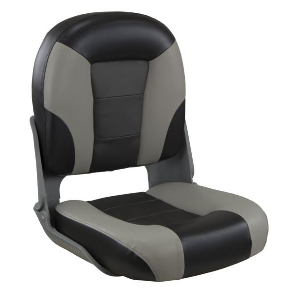 SKIPPER PREMIUM SEAT HIGH BACK CHC/GY by:  Springfield Part No: 1061067 - Canada - Canadian Dollars