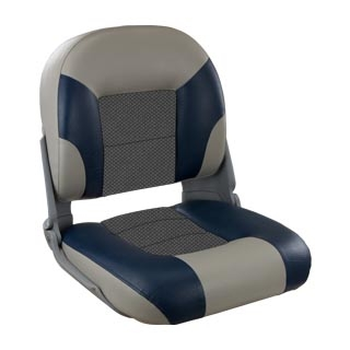 SKIPPER PREMIUM SEAT LOW BACK BL/GY by:  Springfield Part No: 1061079 - Canada - Canadian Dollars