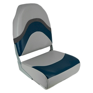 PREMIUM FOLDING SEAT, WAVE BL/GY by:  Springfield Part No: 1062031 - Canada - Canadian Dollars