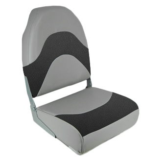 PREMIUM FOLDING SEAT, WAVE CHC/GY by:  Springfield Part No: 1062034 - Canada - Canadian Dollars