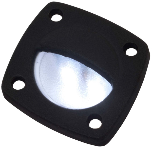 LED LIGHT DELRIN BL W/FACEPLATE BK by:  SeaDog Part No: 401324-1 - Canada - Canadian Dollars
