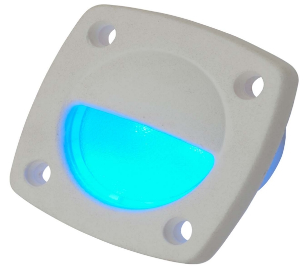 LED LIGHT DELRIN WH W/FACEPLATE WH by:  SeaDog Part No: 401321-1 - Canada - Canadian Dollars