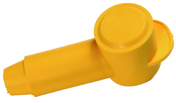 2-2/0AWG Insulator CapYellow/Red pack1/1 by:  Vertex Part No: 81528 - Canada - Canadian Dollars