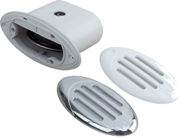 FLUSH MOUNT MINI COMPACT HORN II GRILLS by:  SeaDog Part No: 431230-1 - Canada - Canadian Dollars