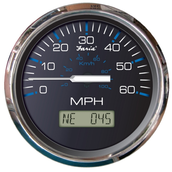 SPEEDOMETER CHESAPEAKE SS 60MPH GPS BK by:  Faria Part No: SGP004 - Canada - Canadian Dollars