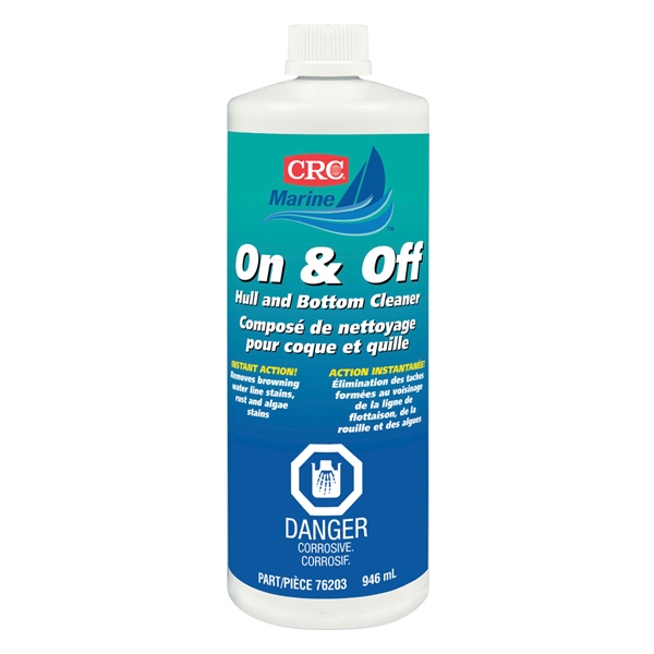 CRC ON & OFF HULL & BOT. CLEANER 946 mL by:  CRC Part No: 76203 - Canada - Canadian Dollars