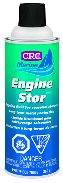 CRC ENGINE STORE 369g AEROSOL Engine Stor Fogging Oil by:  CRC Part No: 76068 - Canada - Canadian Dollars